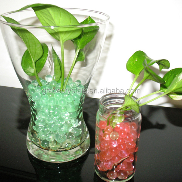 Popular eco-friendly pearl shape crystal soil crystal soil water beads crystal soil