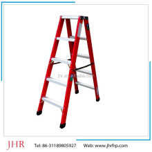 insulating FRP trestle ladder, easy operation, high quality new product ladder