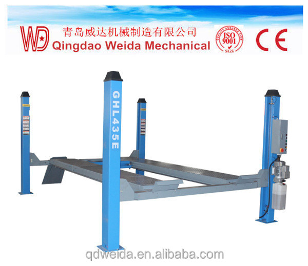 Hot Sale Used 4 Post Car Lift For Auto Maintance