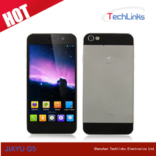 2014 New Arrival 4.5 Inch JIAYU G5 MTK6589T Quad Core RAM 1GB ROM 4GB Dual SIM Android 4.2 Smart Phone