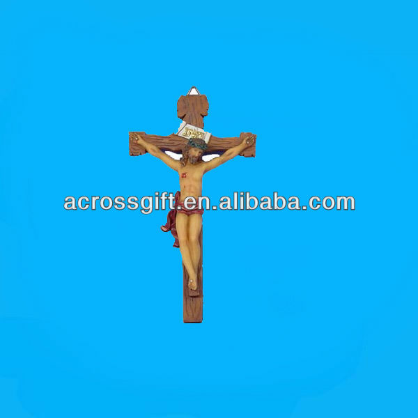polyresin jesus on the cross