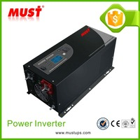 <MUST> CE EMC approved Off grid 1000w 2000w 3000w dc12v ac 220v ups pure sine wave inverter for solar power system