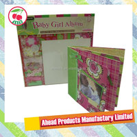 8 x 8 Baby Girl DIY Photo Baby Album