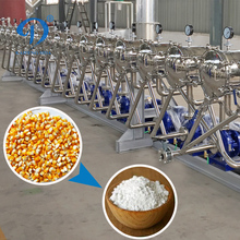 Wholesale maize starch processing equipment China supply corn deep production plant for Egypt