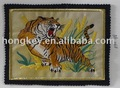 embroidery patches with tiger