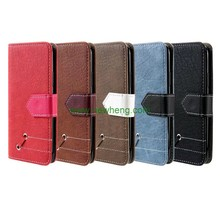 Newest Hit color Retro Matte Style Wallet Flip Leather case for iPhone X