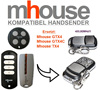 For MHouse GTX4, GTX4C,TX4 universal remote control replacement