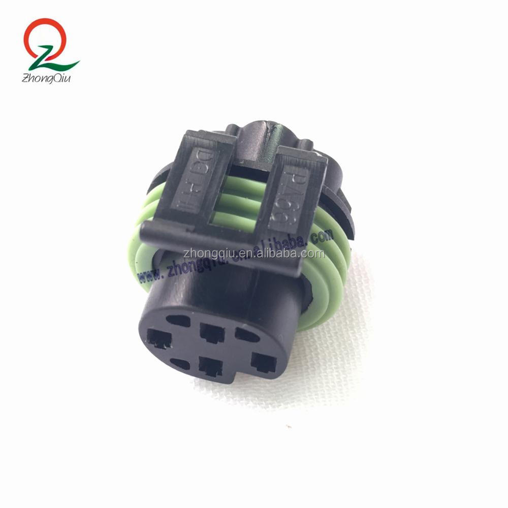 Delphi 4 Pin Black Metri-Pack 150 SERIES Sealed Female Electrical Auto Connector 12065298