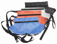 2015 new promotion blue, red, transparent pvc wasit bag