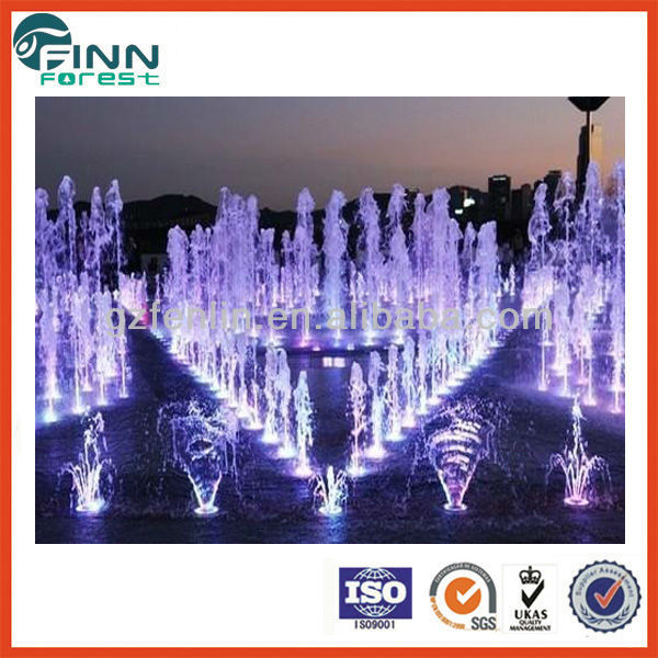 Factory unique design water spray nozzles for music fountain