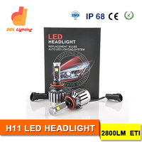 2016 New Arrival! High Quality 30W Automotive LED Head Light with Double Ball Built-in Cooling Fan