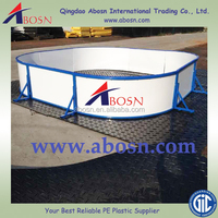100%virgin hdpe hockey dasher board/plastic hdpe ice rink barrier sheet/shooting board