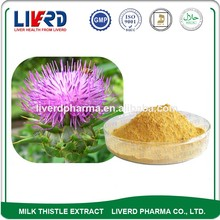 ISO 9001 Fructus Silybum Supplement Milk Thistle for Liver Damage