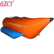 2018 Funny inflatable water games flyfish banana boat for sale