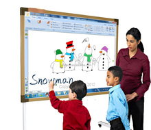 IR whiteboard quality Finger touch electronic portable wireless smart interactive white board