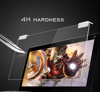 Factory hot sale clear laptop 9h hardness tempered glass screen protector for laptop