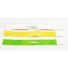 Cheap material quality product as advertised Paper Wristbands