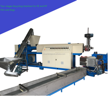 Plastic Recycling Granulator Machine For PE Or PP Film And Bag