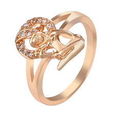Exaggerate Women Female Shaped Unique Ring for Party for Banquet