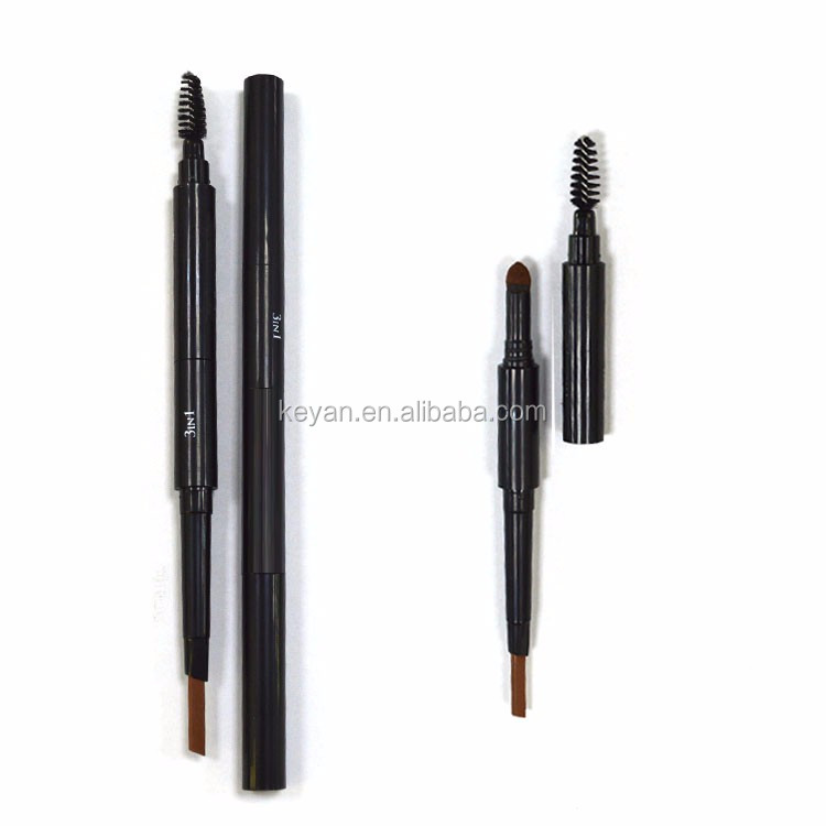 3 In 1 Eyebrow Pencil Eyebrow Powder Brow Brush ColorStay Eyebrow Pencil