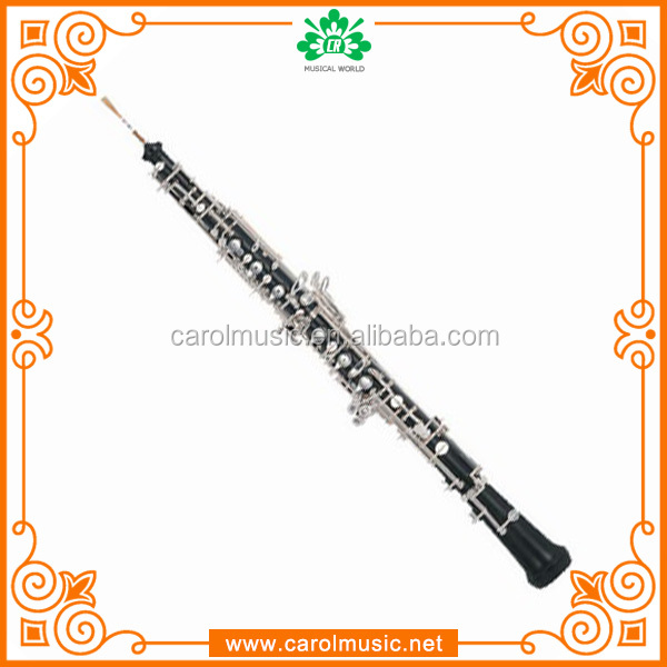 OB003 Silver Plated Ebony oboe Price