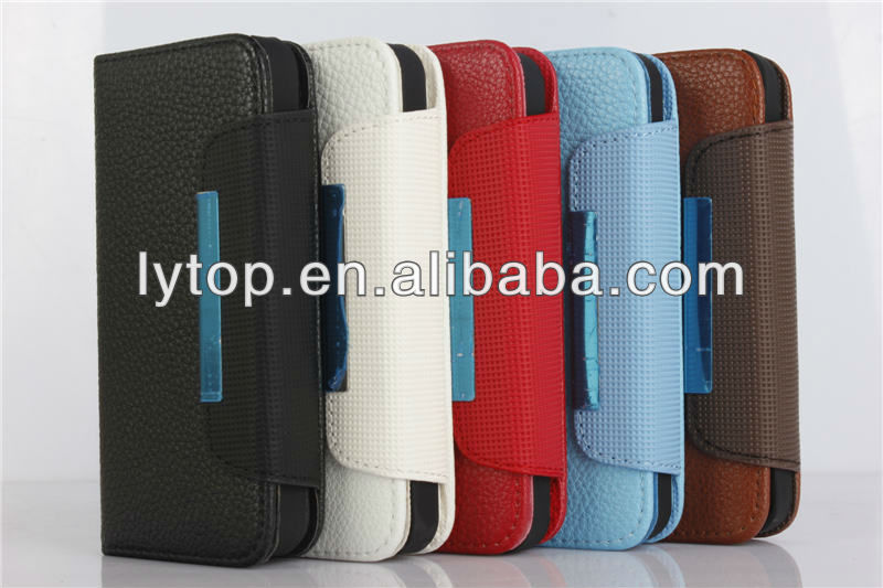 Detachable Wallet leather Case for apple iPhone 5 5s
