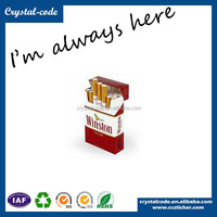 Popular custom made paper packaging cigarette box printing