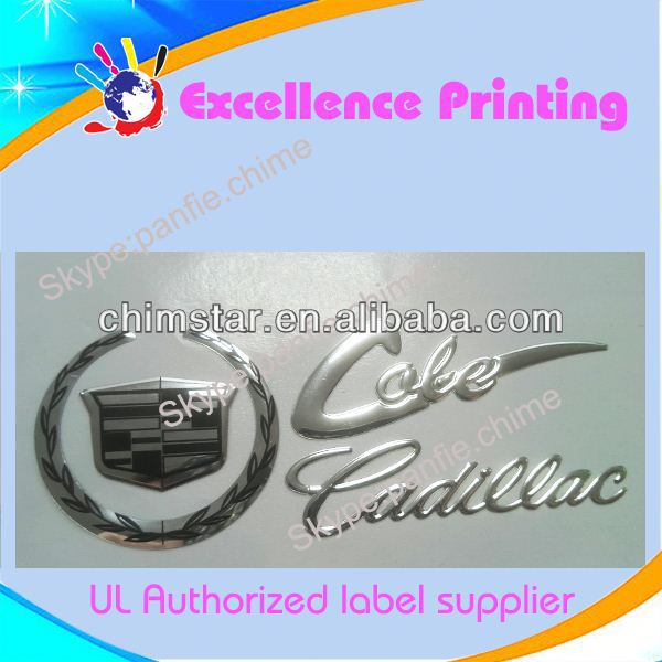 water resistant customized all cars names and logos