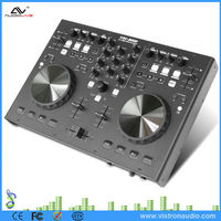 Portable Professional USB DJ Midi Controller Multimedia Audio Player