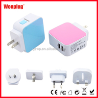 China Manufacturer High quality dual port usb wall charger