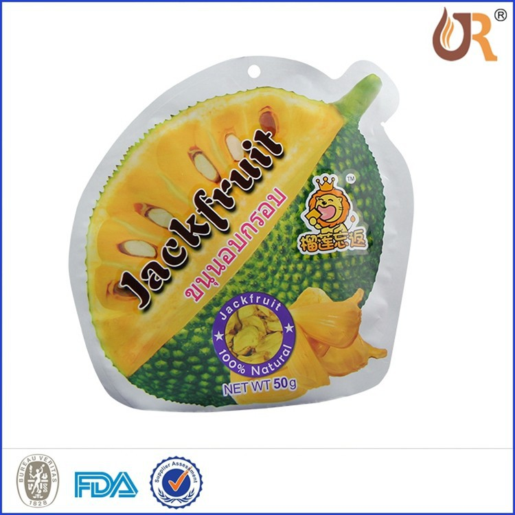 180m fruit Shape Beverage Packaging Pouch OppPlastic bag