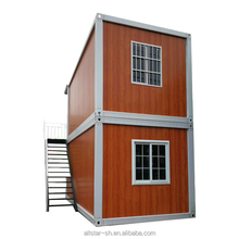 two storey container house/doule layer container house