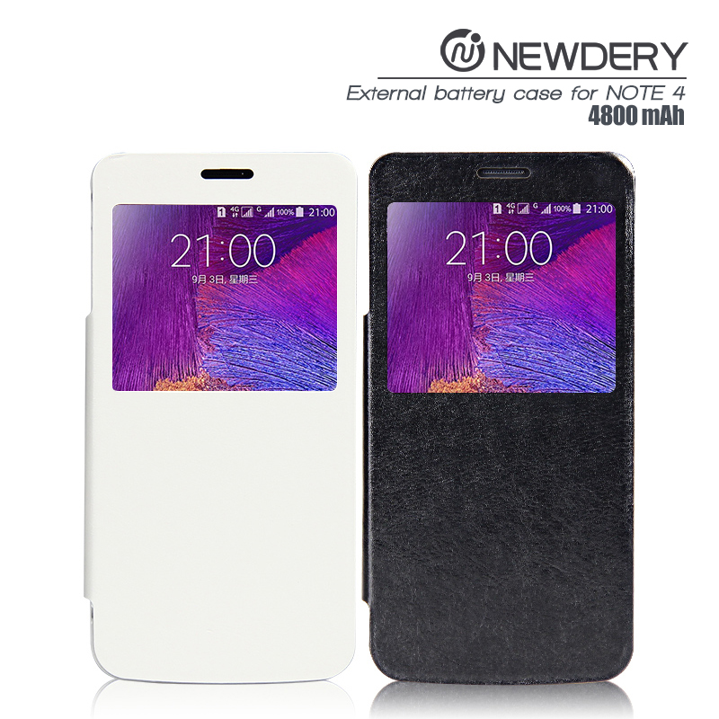 electronics import cheap goods from china power bank case for galaxy 4800mah battery case for galaxy note 4