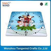 promotional MDF wooden clock