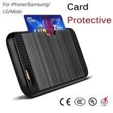 free sample Card Holder Wallet Magnetic Folded Flip PU Leather Cell Phone Case for iPhone 6 6S Plus 5S 5S 5 4S
