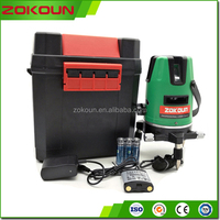Low price, High Precision, multi line green line laser