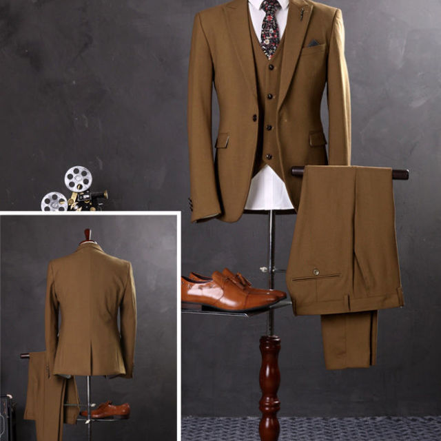 Men's Designer Newest Slim Fit Men Suits for Wedding Tuxedo