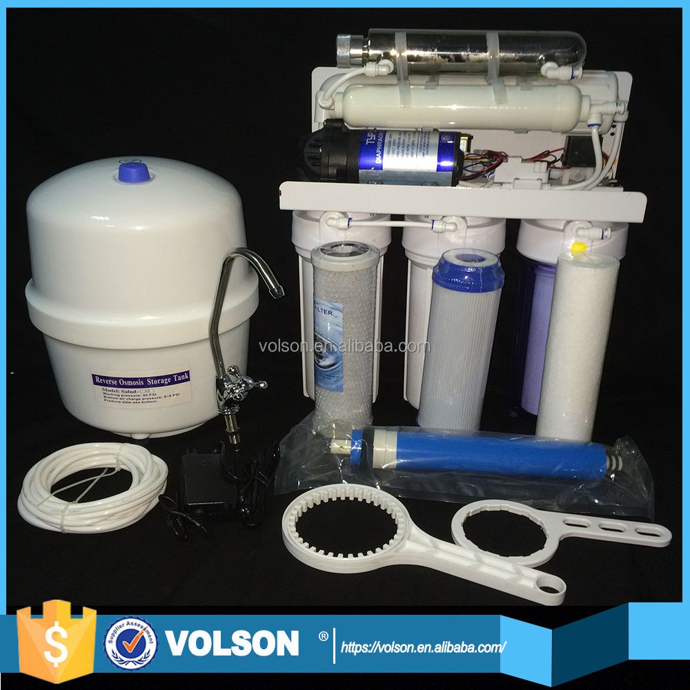 VOLSON Hot selling 6 stages 0.1 micron water filter well pump filter for home use