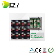 160*160MM P10 Led Display Screen For Government Projects P10 Led Display Screen