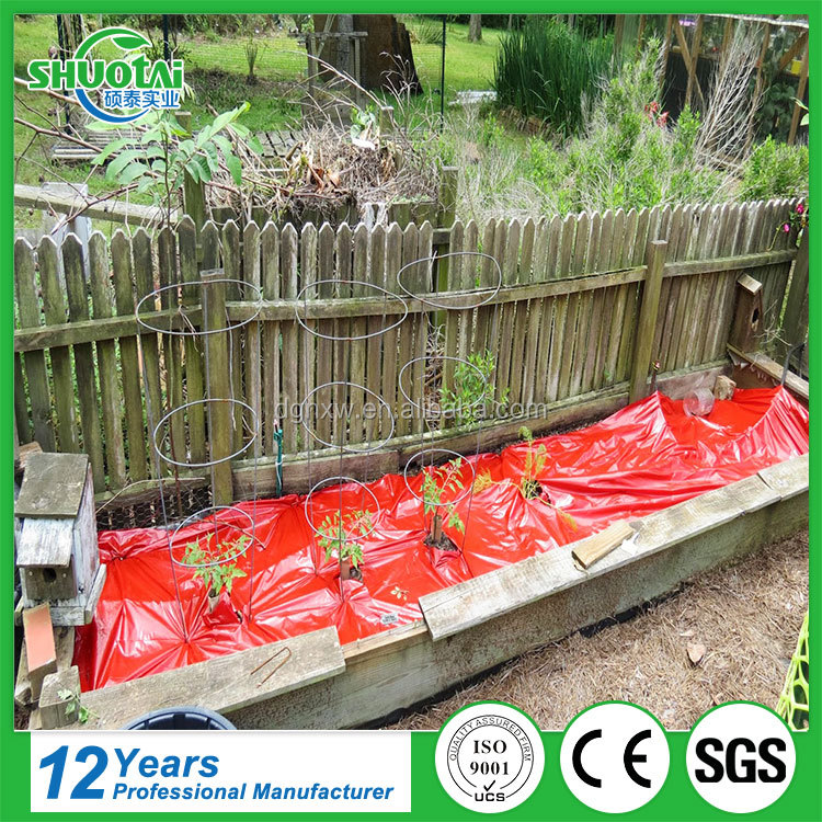 OEM & ODM free sample agriculture garden mulching film biodegradable red plastic mulch for tomatoes
