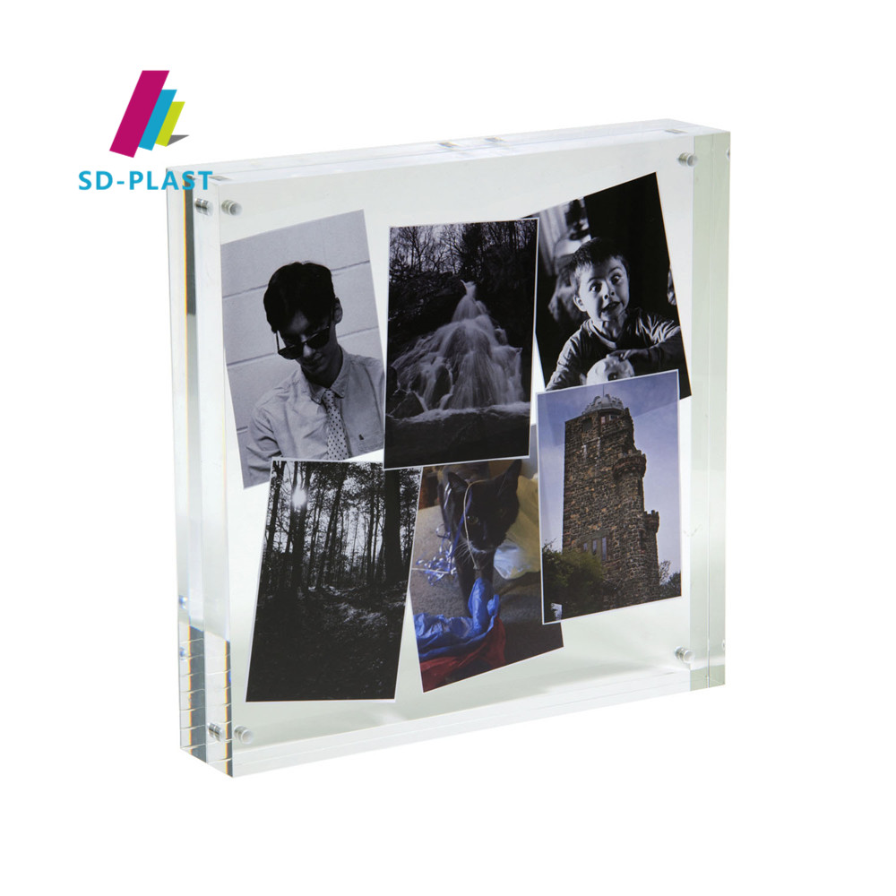 Top rated custom multi acrylic photo frame perspex picture frame