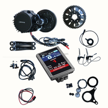 BBS03 48v 1000w bafang 8fun mid drive motor e bike kit with new colourful display