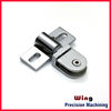 customized Aluminum Clamps glass clip connectors hinge