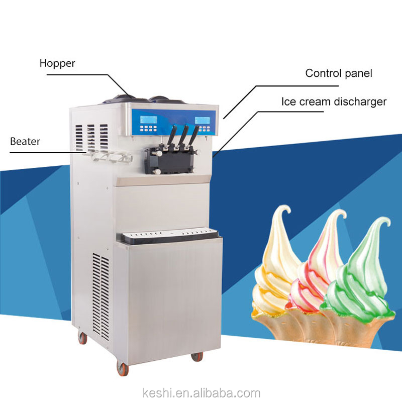 Ks-5236C Ice Cream Makers Other Food Processing Machinery Shanghai Manufacturer