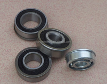 Pressed Chrome steel bearing MF74ZZ / high precision flange ball bearing