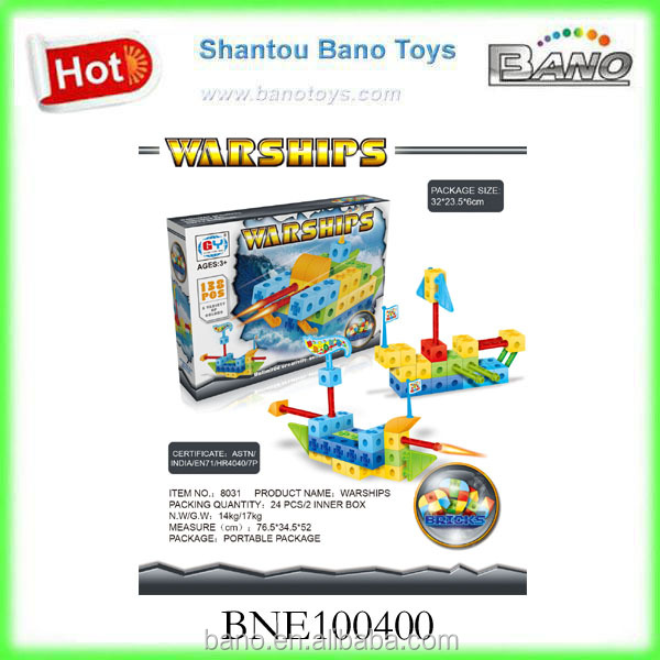 Children Toy Building Blocks Warships Series BNE100400