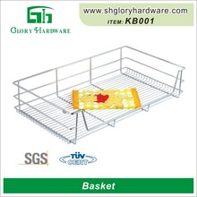 Wholesale Cheap Stainless Steel Kitchen Metal Bicycle Basket