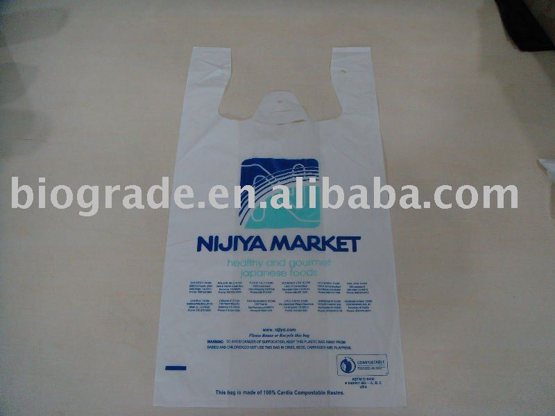 biodegradable (compostable) shopping bags