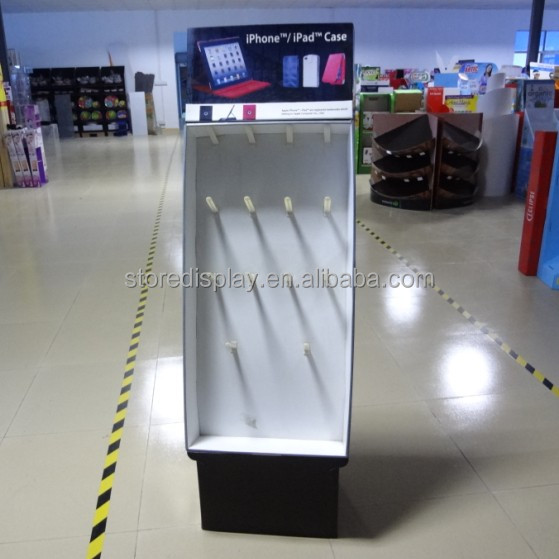 Paper , Corrugated Paper , Mobile/ IPAD Accessory Display , Special Hook Counter Top Display stand
