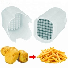 Perfect Fries One Step Manual Potato Chipper French Fry Cutter
